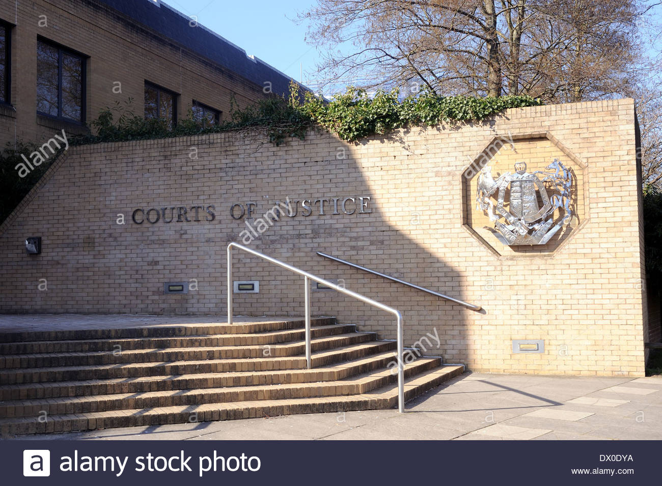Southampton UK Southampton Courts of Justice. Combined Court Centre. - Stock Image