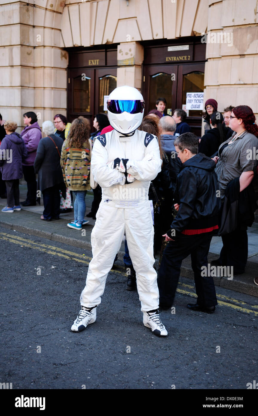 Nottingham, UK. 16th Mar, 2014. 16th March 2014.Hundreds of Sci-Fi fans descended on Nottingham's Albert Hall for first ever EM-CON convention .Guest included Craig Charles, Ben Miller, Danny John-Jules, and a host of other stars. Credit:  Ian Francis/Alamy Live News - Stock Image