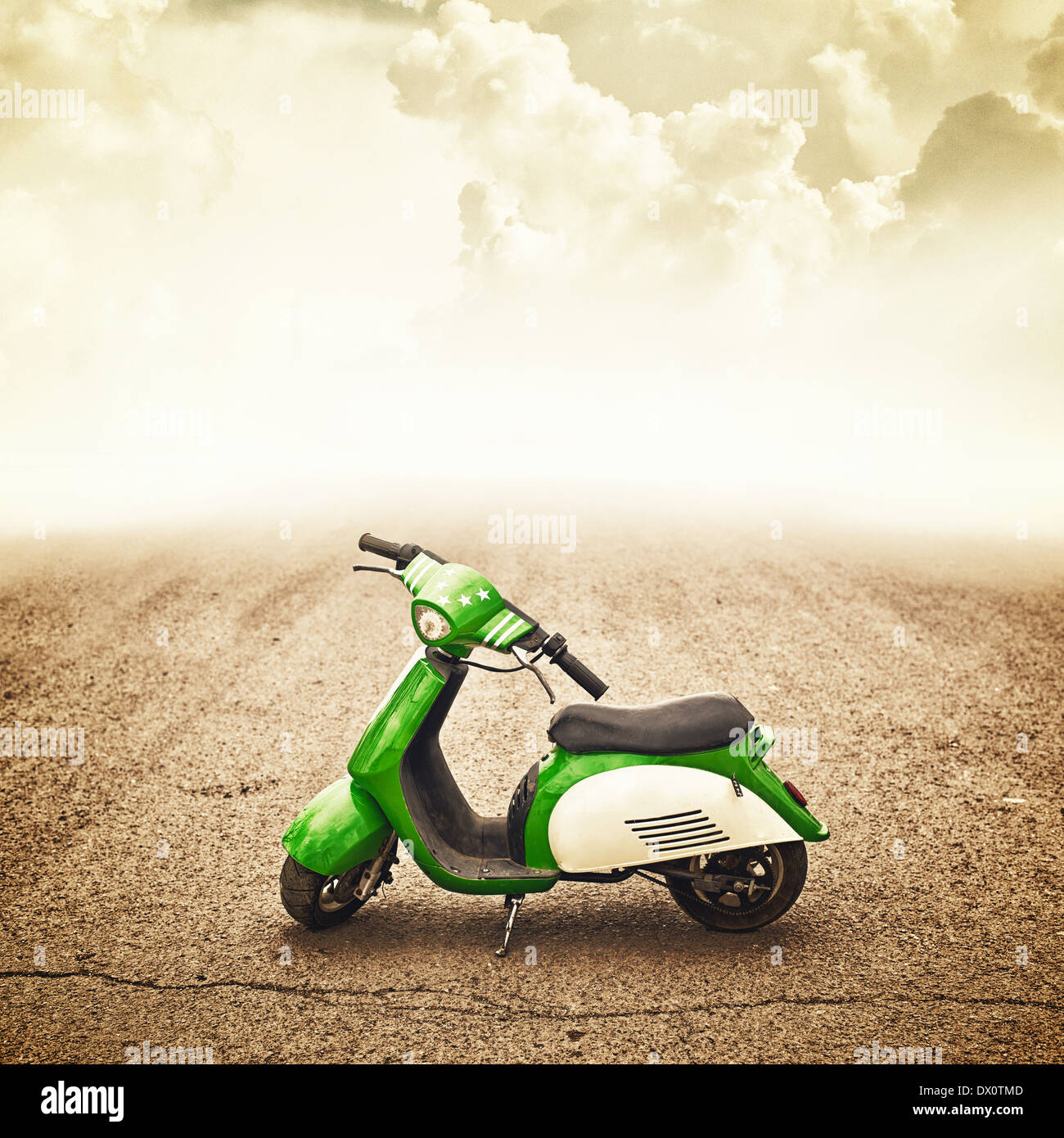 Mini Motor Bike For Children, Trendy Vehicle   Stock Image