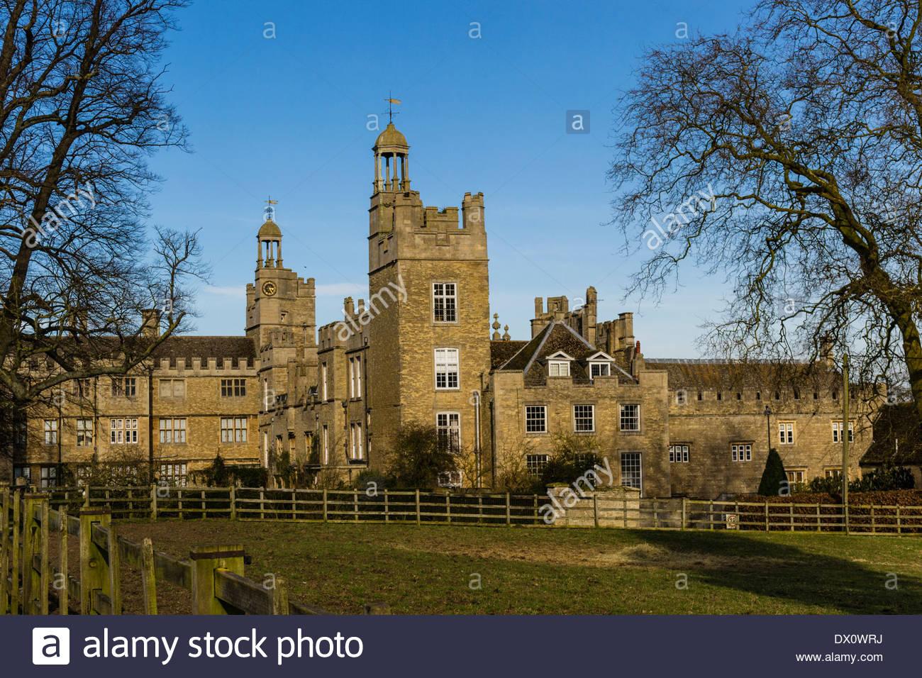 Drayton House, Northamptonshire - Stock Image