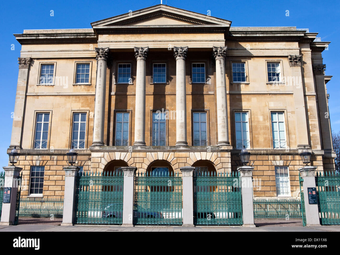 The magnificent Apsley House (also known as the Wellington Museum) in London. - Stock Image