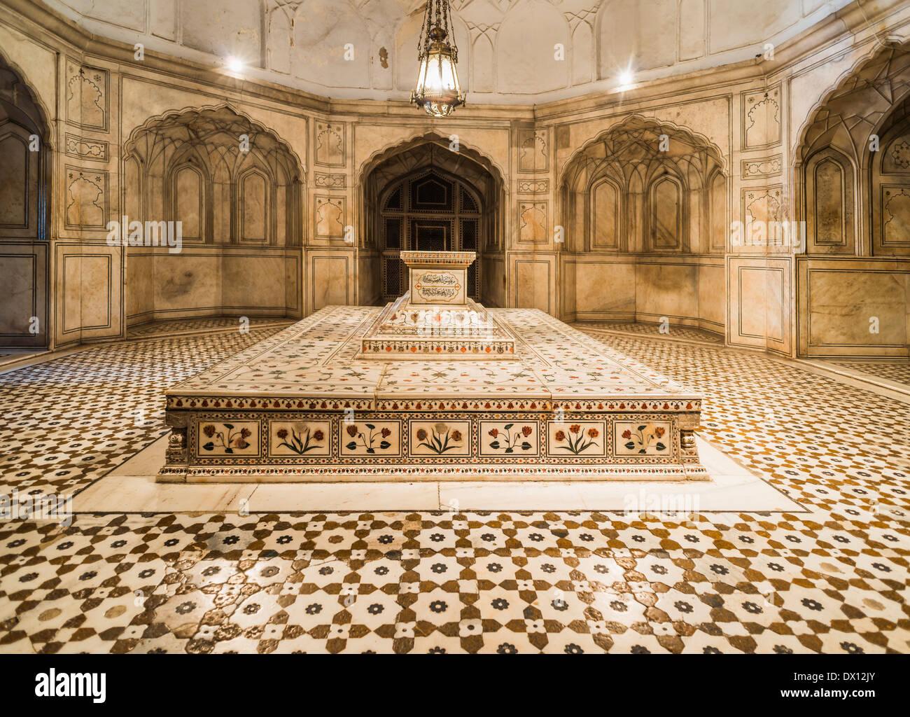Jahangir's Tomb Lahore Pakistan - Stock Image
