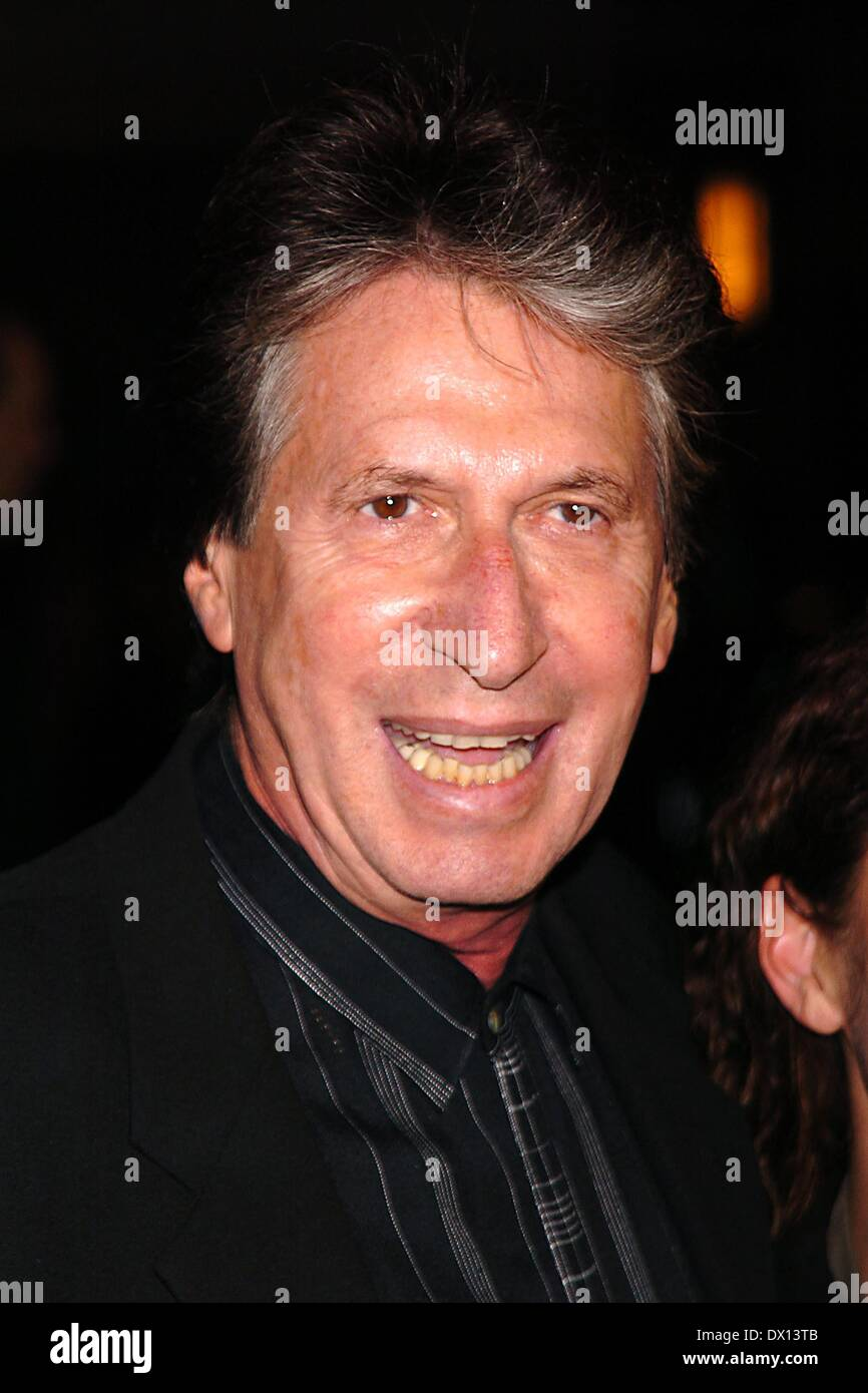 DAVID BRENNER (February 4, 1936 - March 15, 2014) was an American stand-up comedian, actor and author. The most frequent guest on The Tonight Show Starring Johnny Carson in the 1970s and 1980s, Brenner was a pioneer in the genre of observational comedy. PICTURED: Dec. 8, 2004 - New York, New York, U.S. - DAVID BRENNER at the premiere of 'Beyond the Sea' at the Zigfield Theater. (Credit Image: © John Barrett/Globe Photos/ZUMAPRESS.com) - Stock Image