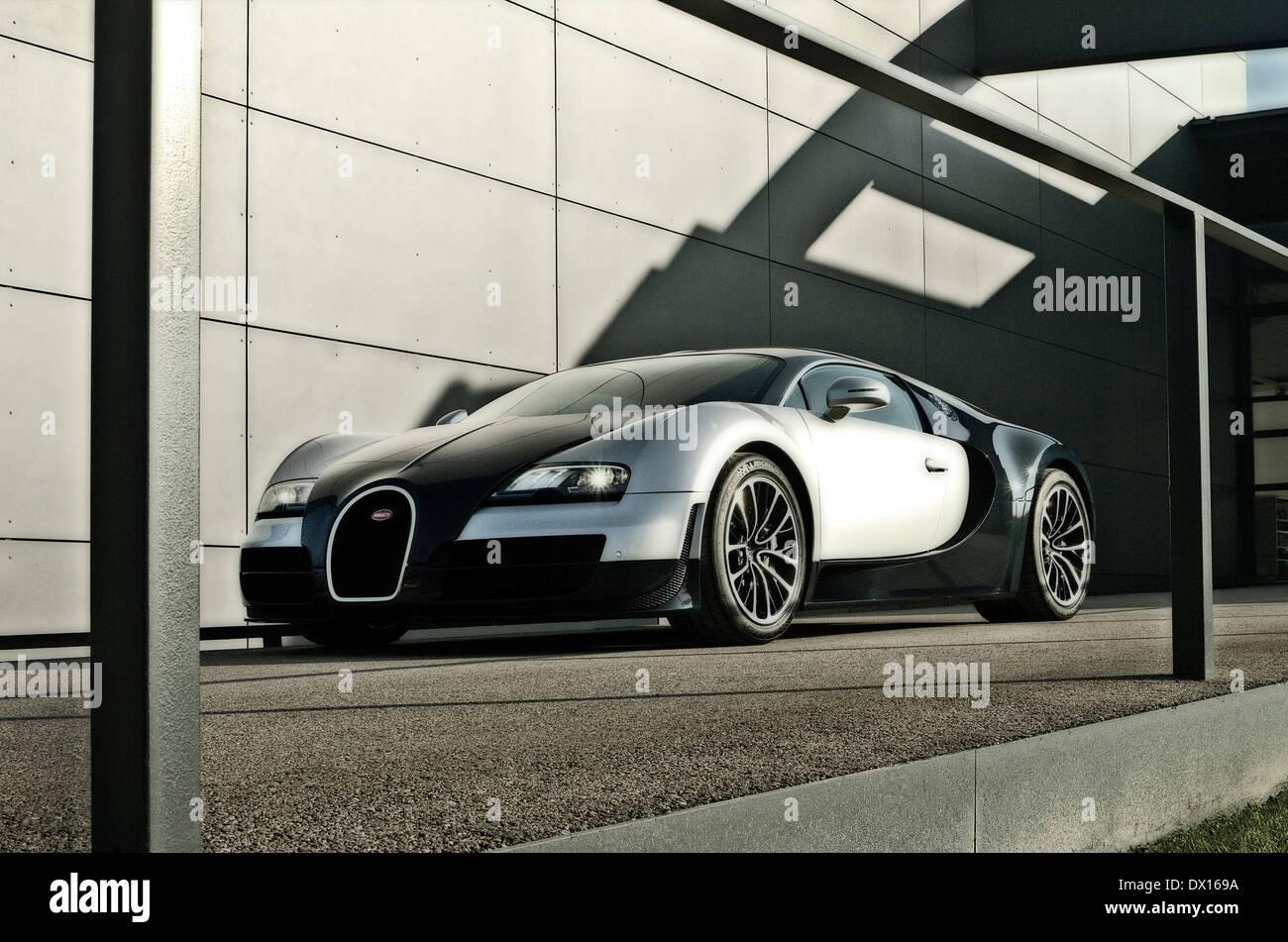 Bugatti Veyron Super Sport   Stock Image