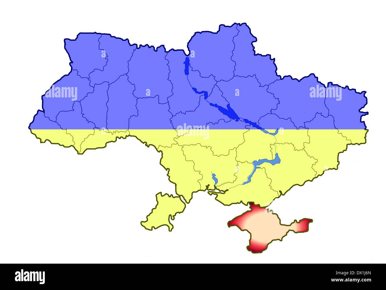 Crimea Peninsula Stock Photos & Crimea Peninsula Stock ... on show map of eastern europe, show map of romania, show map of moscow, show map of georgia, show map of asia minor,