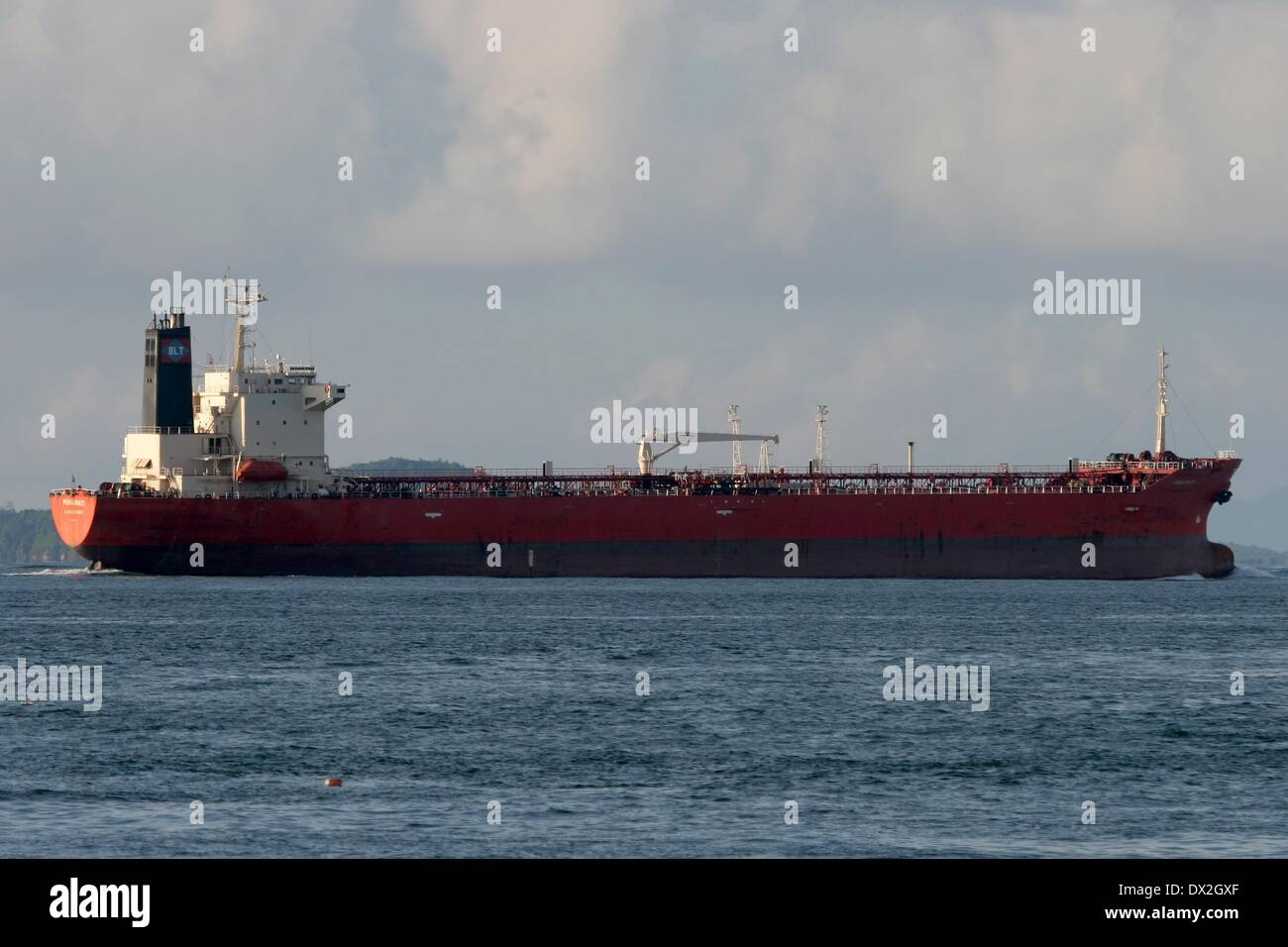 The oil tanker 'Morning Glory', formerly known as 'Pergiwati