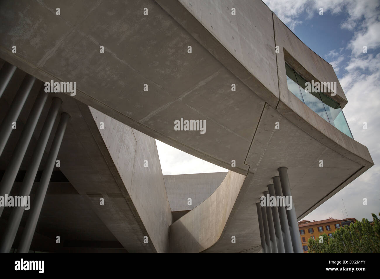 The MAXXI – National Museum of the 21st Century Arts, Rome, Italy - Stock Image