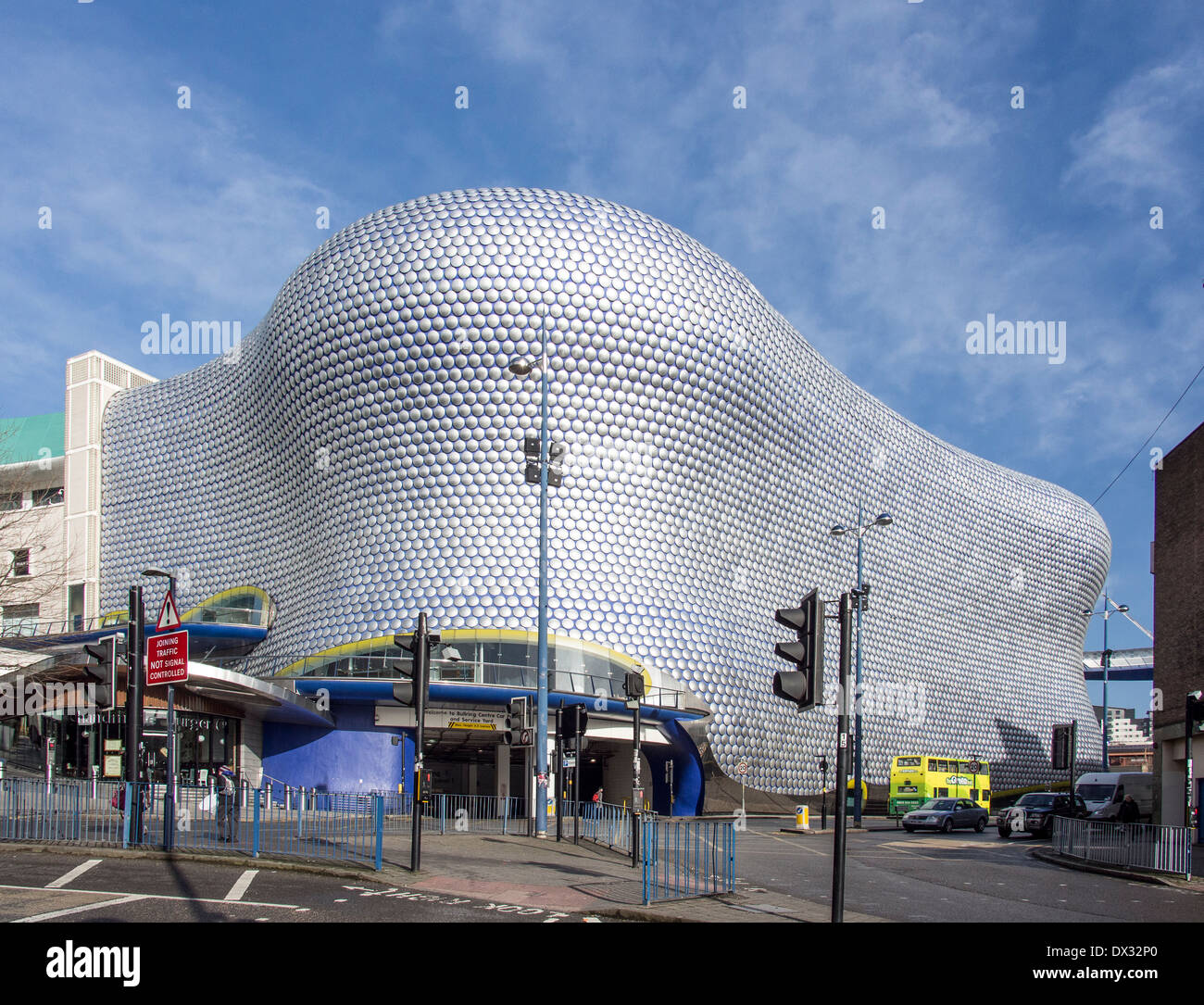 Selfridges Building from South in  Birmingham City Centre UK - Stock Image