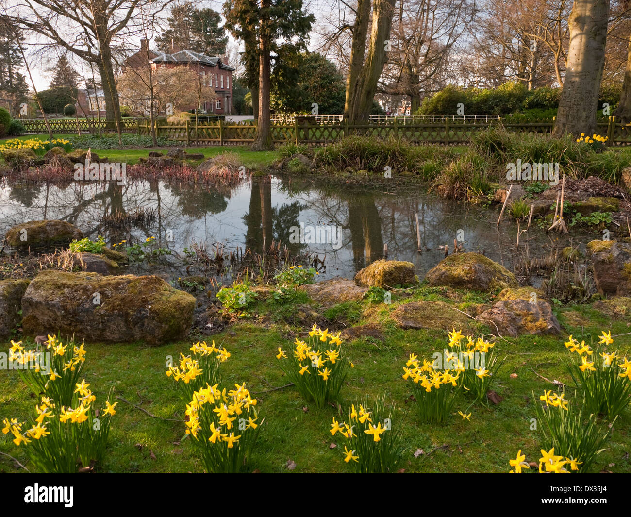 Bantock House and Park, Wolverhampton, West Midlands, UK - Stock Image