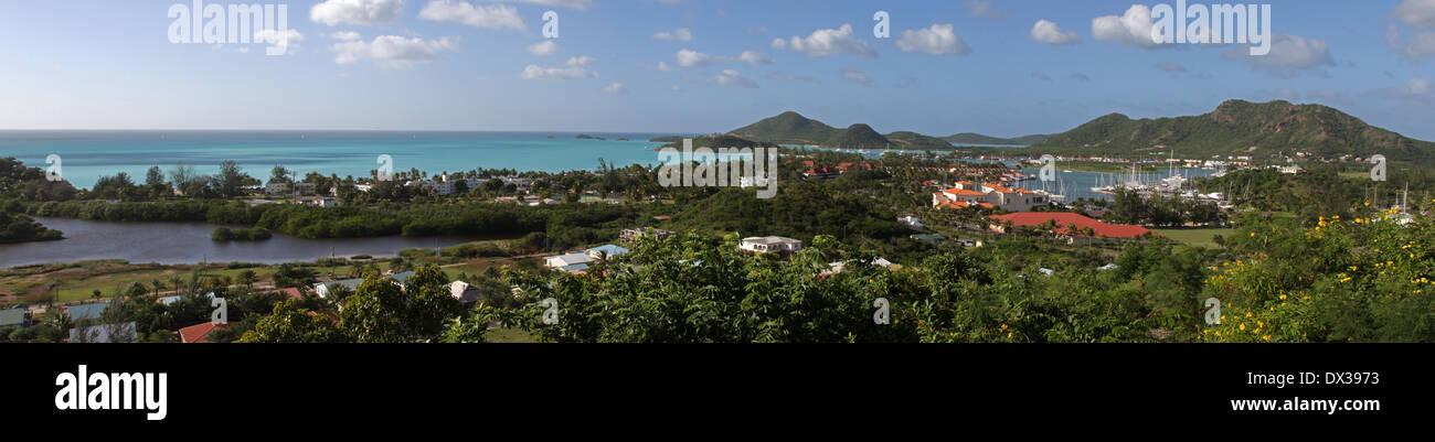 Jolly Beach Panorama - Stock Image