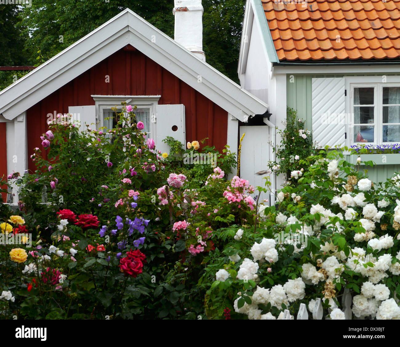 vasagatan in kalmar, kalmar län, småland, sweden - Stock Image