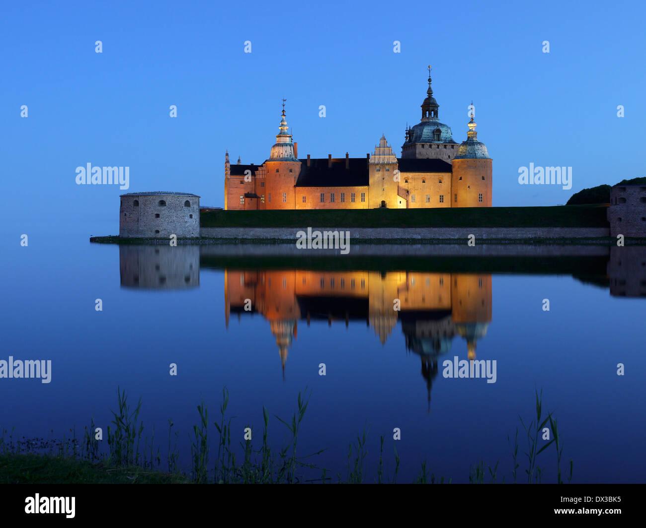 kalmar castle, småland, sweden - Stock Image