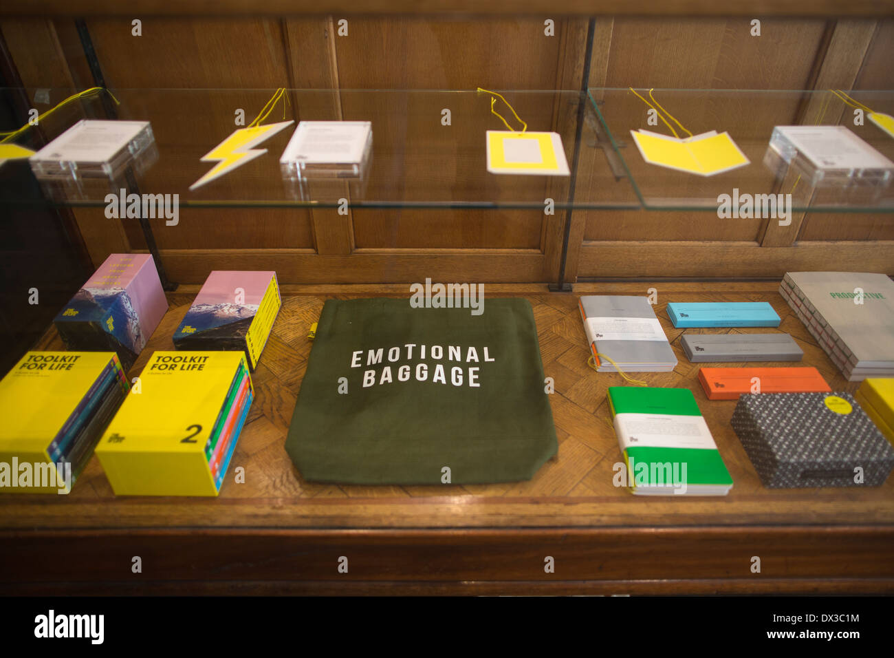 The School of Life headquarters, therapy classes and assistance in the quest for a fulfilled life, London, England, UK - Stock Image