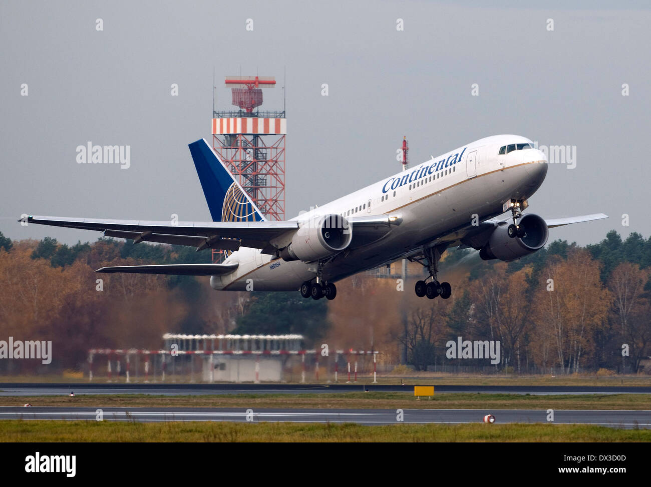 Continental Airlines - Stock Image