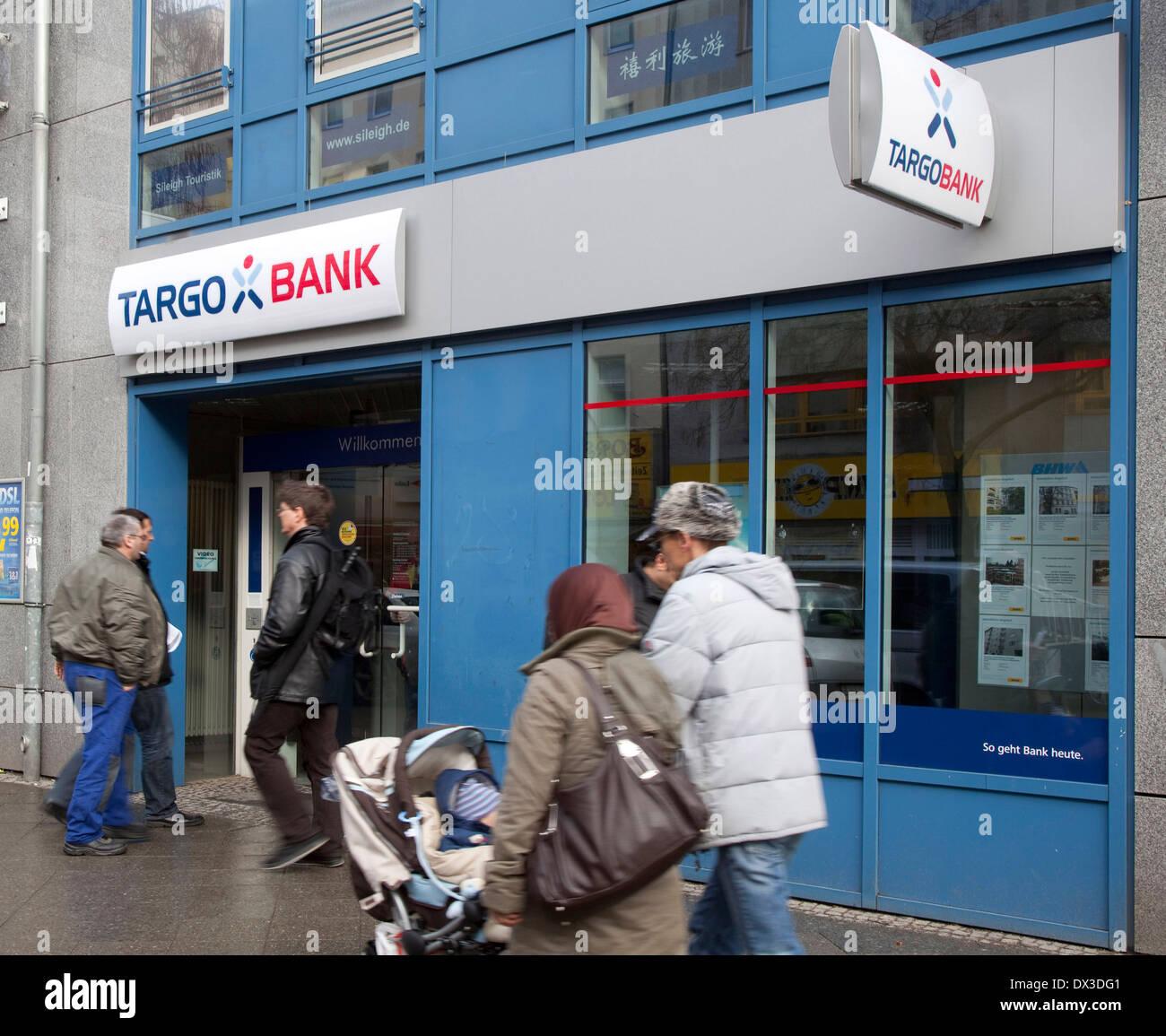 Branch TARGOBANK - Stock Image