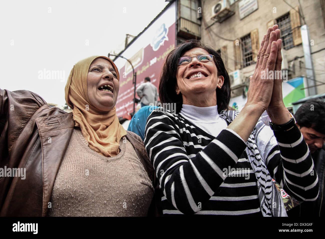 Ramallah, Palestinian Territories. 17th Mar, 2014. March 17, 2014 - Ramallah, West Bank, Palestinian Territory  Stock Photo