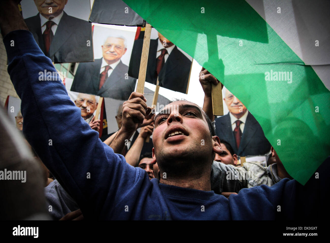 Ramallah, Palestinian Territories. 17th Mar, 2014. March 17, 2014 - Ramallah, West Bank, Palestinian Territory  Stock Photo