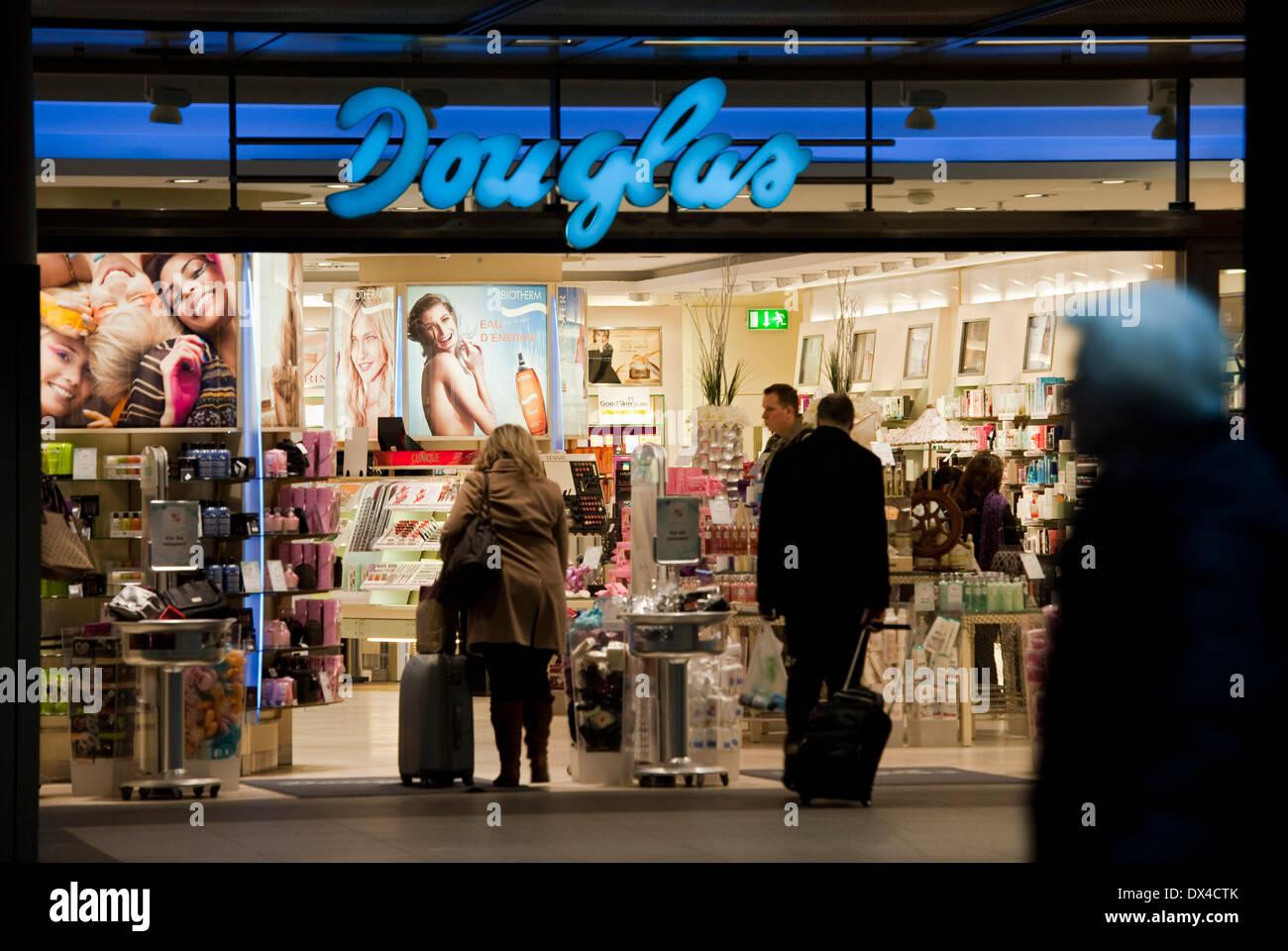 Douglas branch Stock Photo
