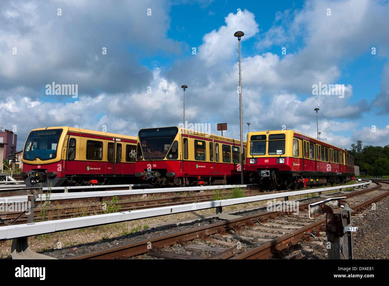 S -Bahn Stock Photo
