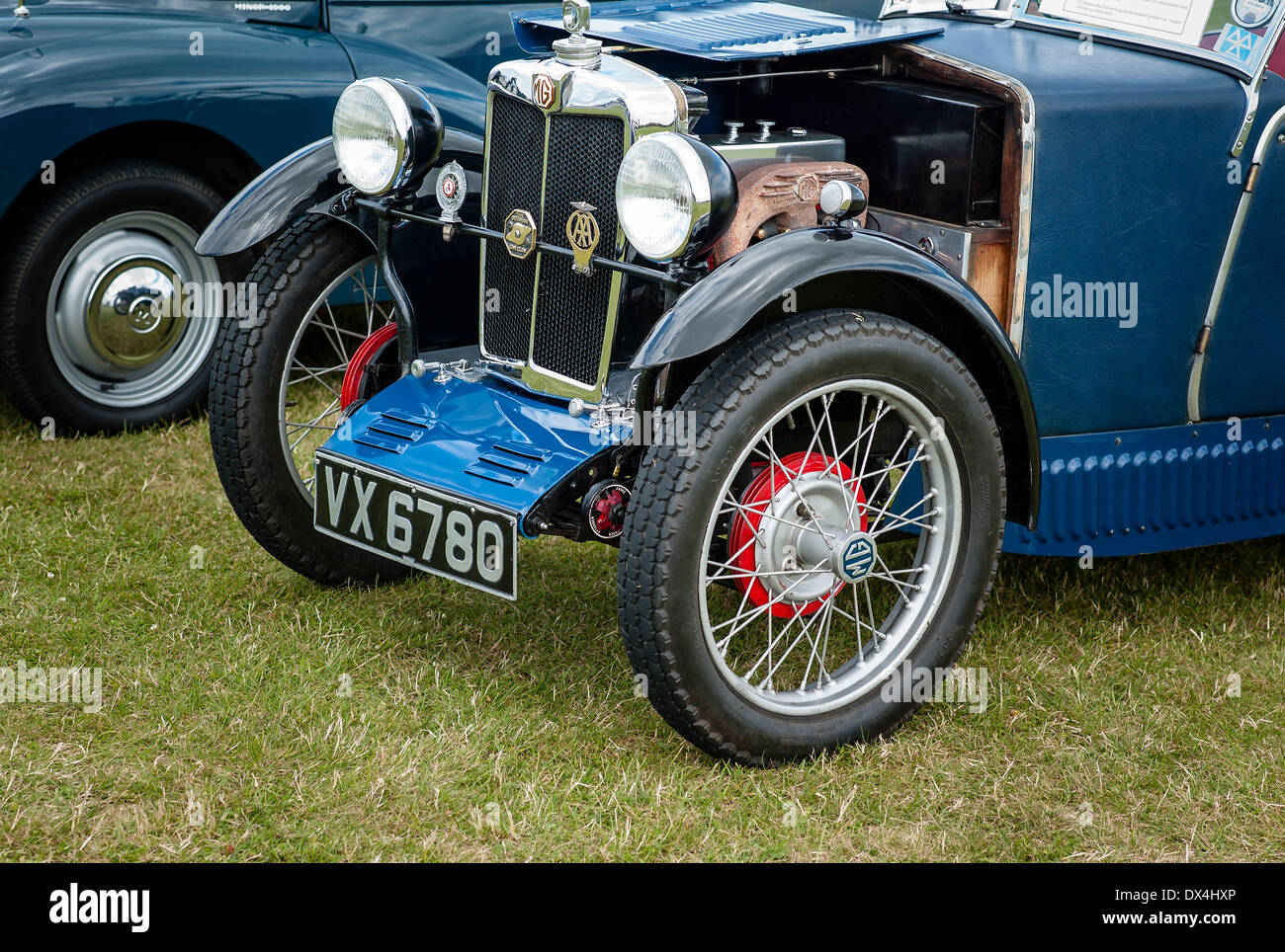 MG M 1930s open top sport car in UK - Stock Image
