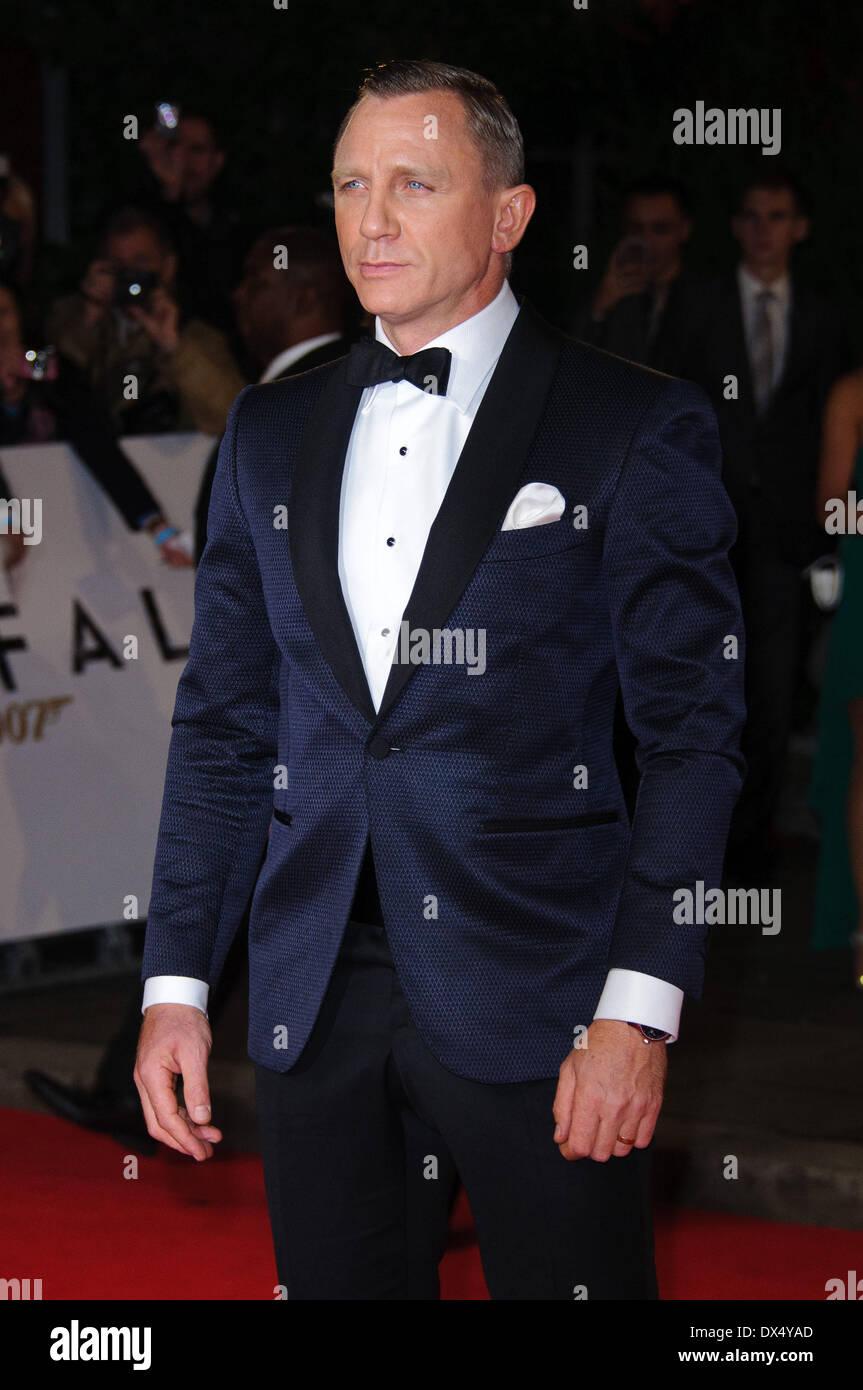Daniel Craig James Bond Skyfall World Premiere Held At The