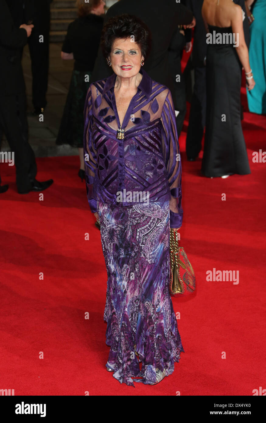 Eunice Gayson James Bond Skyfall World Premiere held at the Royal ...