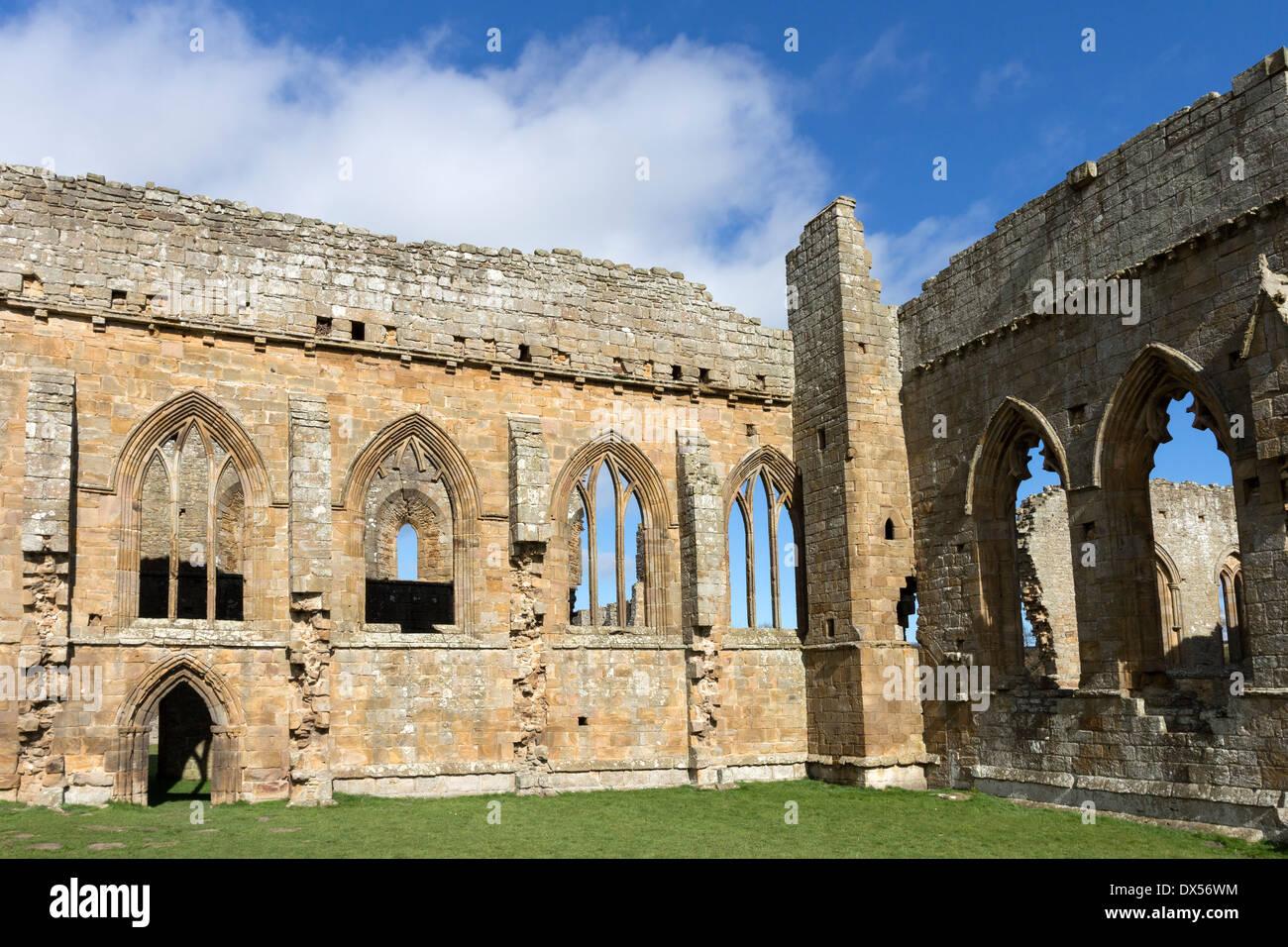 Egglestone Abbey Near Barnard Castle County Durham UK - Stock Image