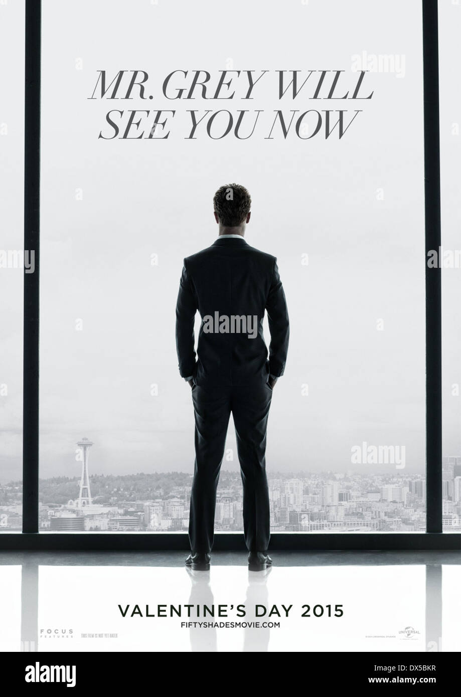 FIFTY SHADES OF GREY (POSTER) (2015) SAM TAYLOR-JOHNSON (DIR) MOVIESTORE COLLECTION LTD - Stock Image