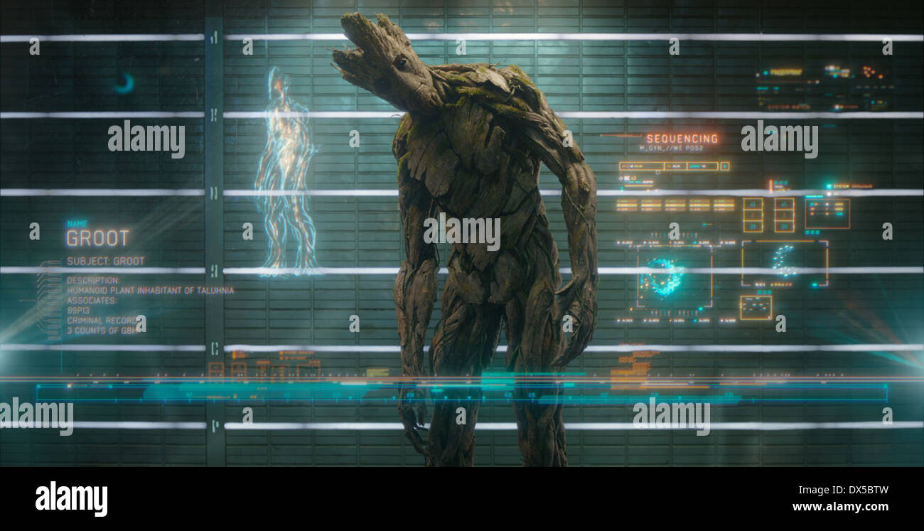 GUARDIANS OF THE GALAXY (2014) JAMES GUNN (DIR) MOVIESTORE COLLECTION LTD - Stock Image