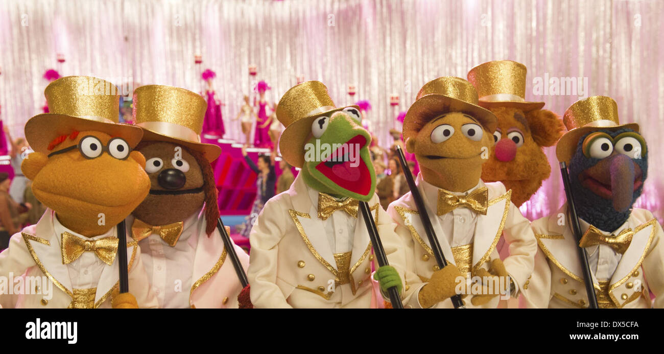 MUPPETS MOST WANTED (2014) JAMES BOBIN (DIR) MOVIESTORE COLLECTION LTD - Stock Image