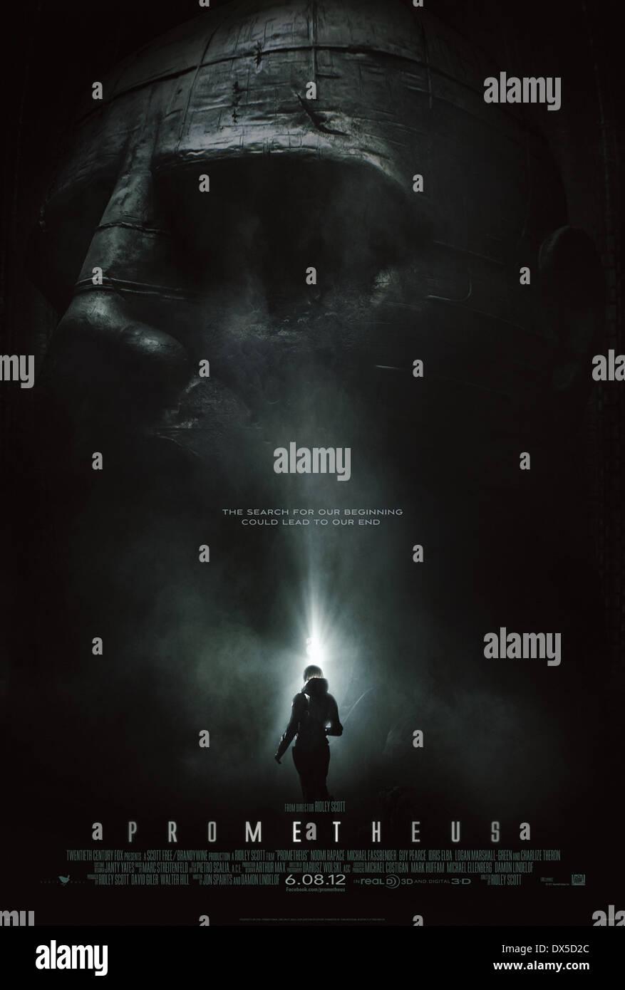 PROMETHEUS (2012) RIDLEY SCOTT (DIR) MOVIESTORE COLLECTION LTD - Stock Image