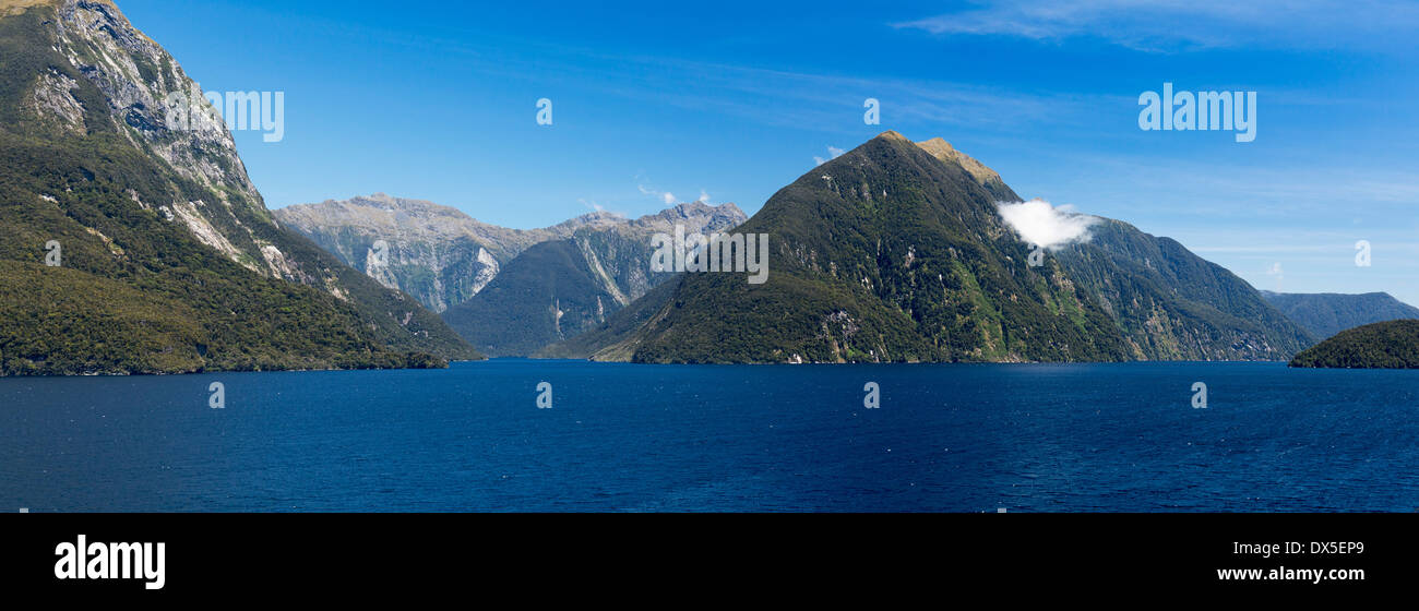 Doubtful Sound, New Zealand - Stock Image