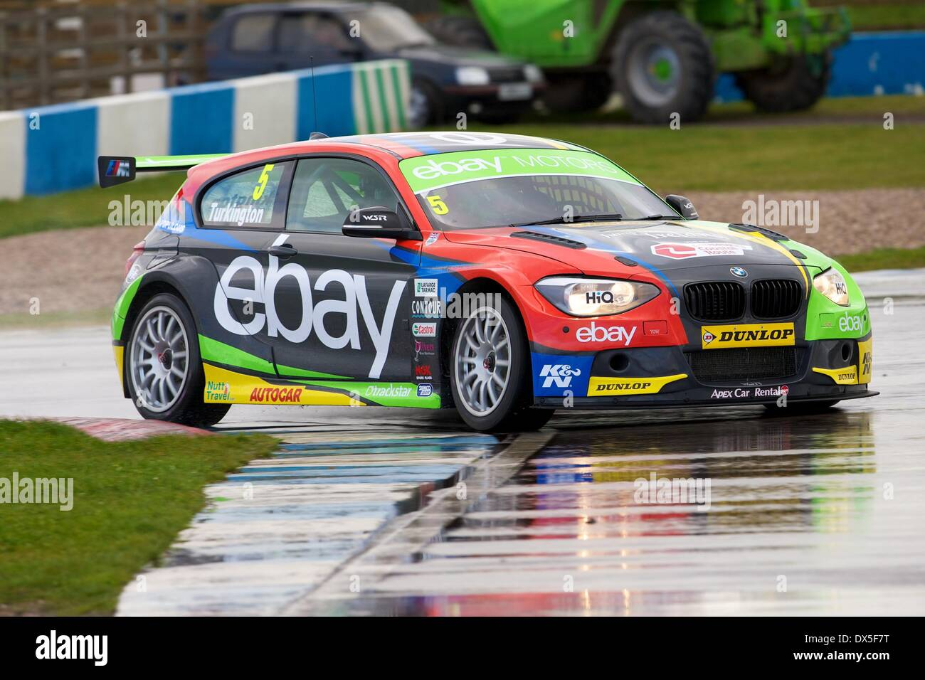 Donington, UK. 18th Mar, 2014. Colin Turkington driving his eBay ...
