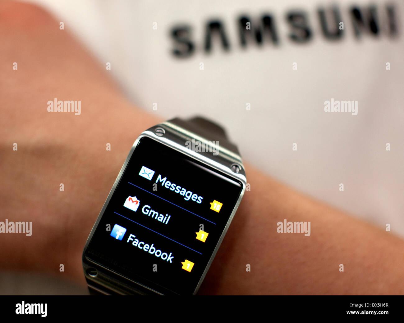 Wearable Technology Show, Olympia, London: Samsung Galaxy Gear smart