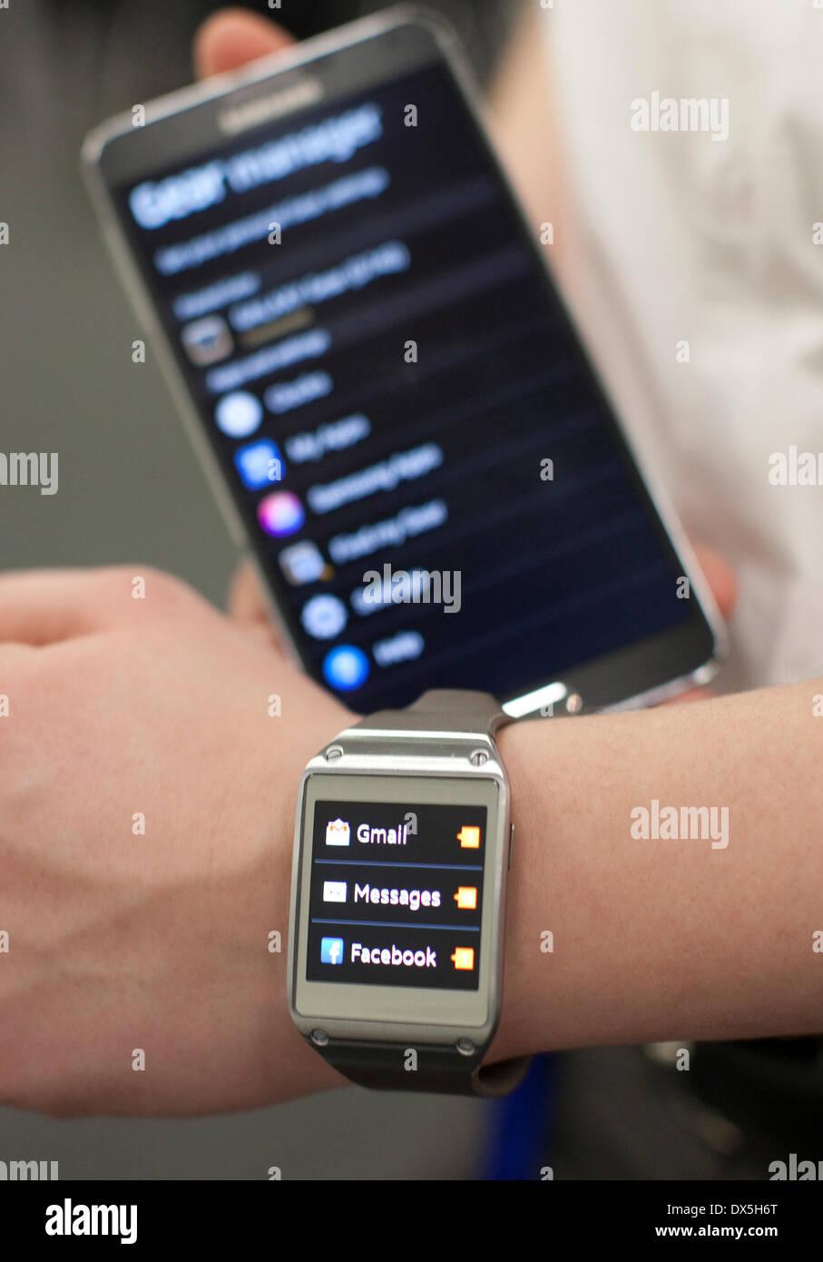 Wearable Technology Show, Olympia, London: Samsung Galaxy
