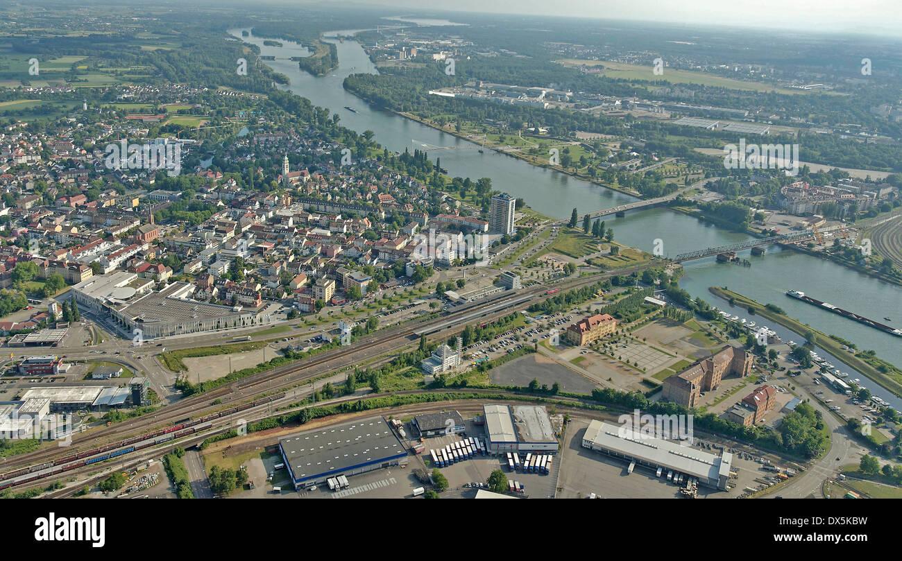 Kehl am Rhein, Black Forest, Germany Stock Photo