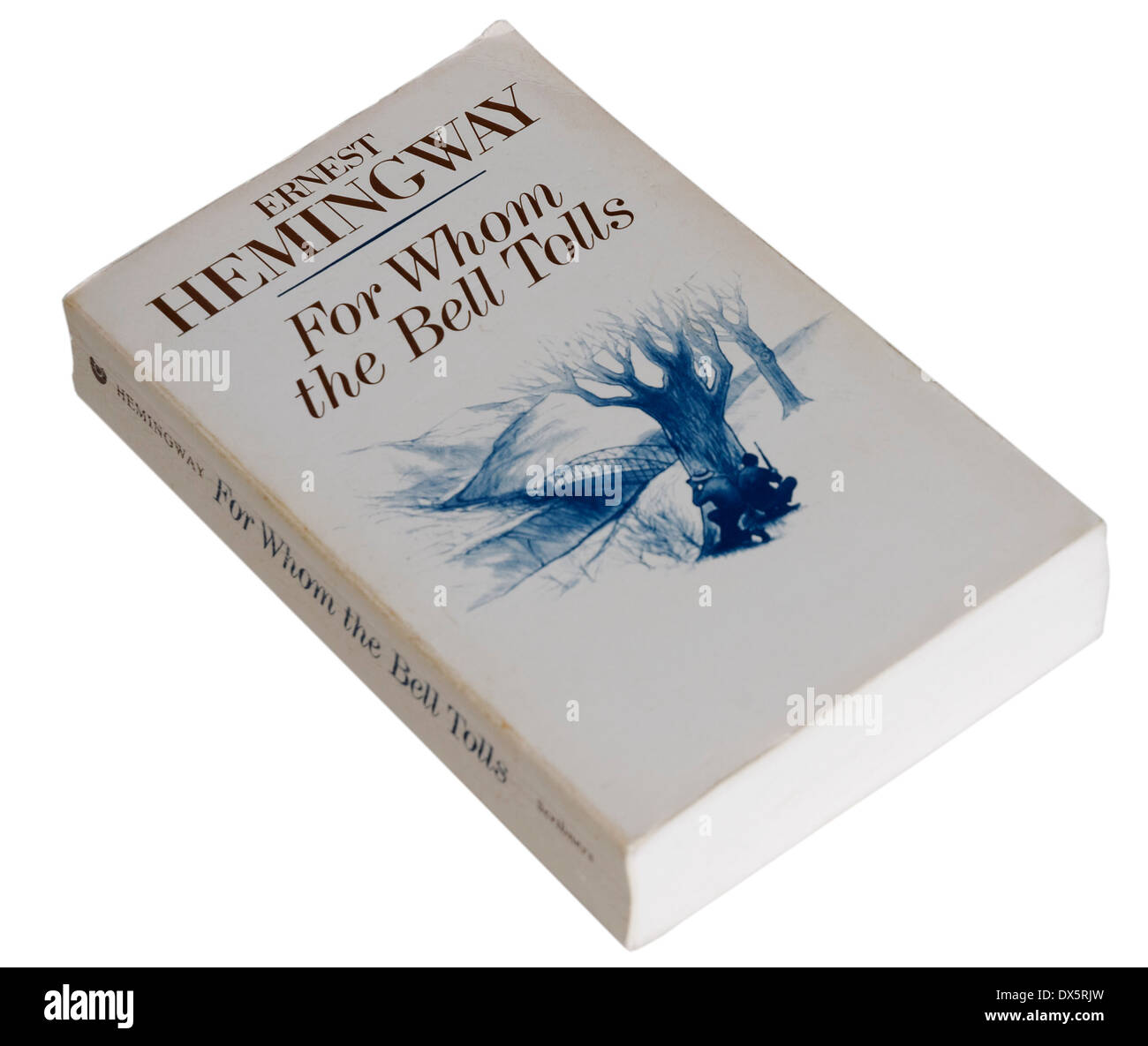 For Whom the Bell Tolls by Ernest Hemingway Stock Photo