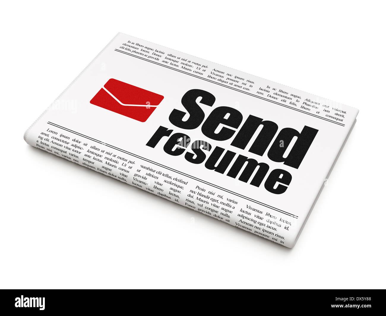 Resume 3d Paper Icon Symbol Stock Photos & Resume 3d Paper Icon ...