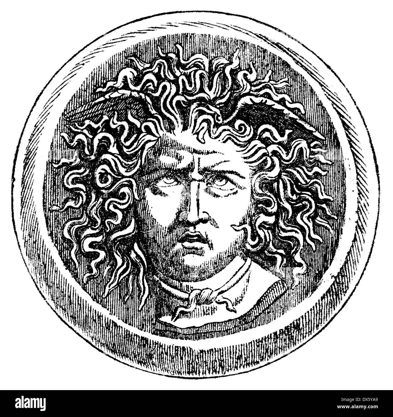 Medusa Drawing High Resolution Stock Photography And Images Alamy You can edit any of drawings via our online image editor before downloading. https www alamy com head of medusa illustration from book dated 1878 image67743377 html