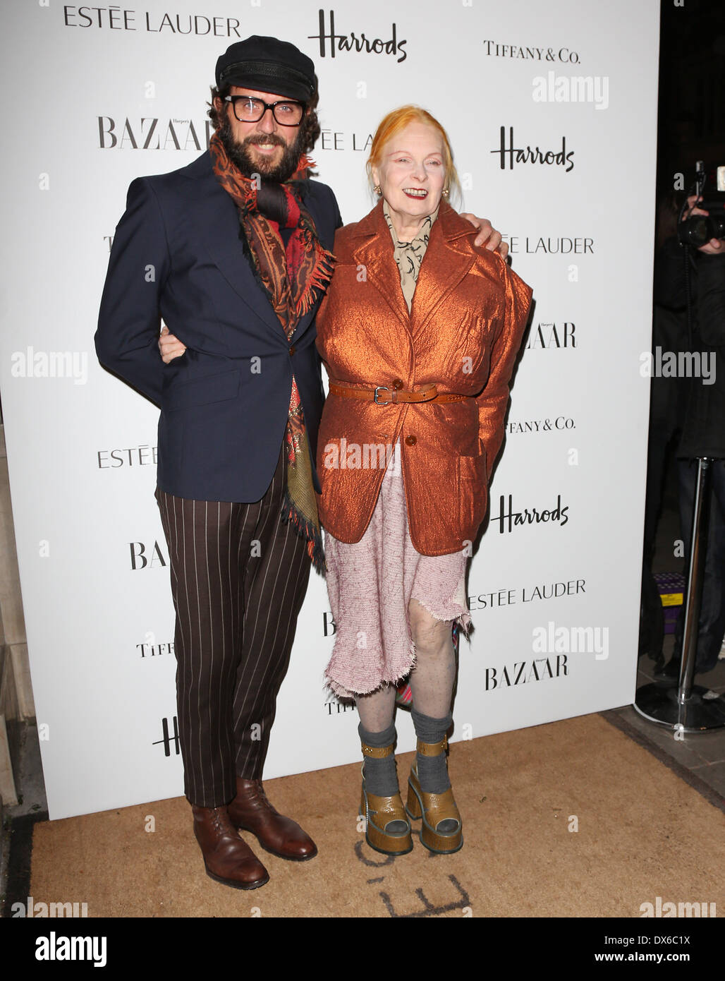 c7bd70a2c3 Vivienne Westwood and husband Andreas Kronthaler Harper's Bazaar Women of  the Year 2012 held at Claridges - Arrivals London, England - 31.10.12  Featuring: ...