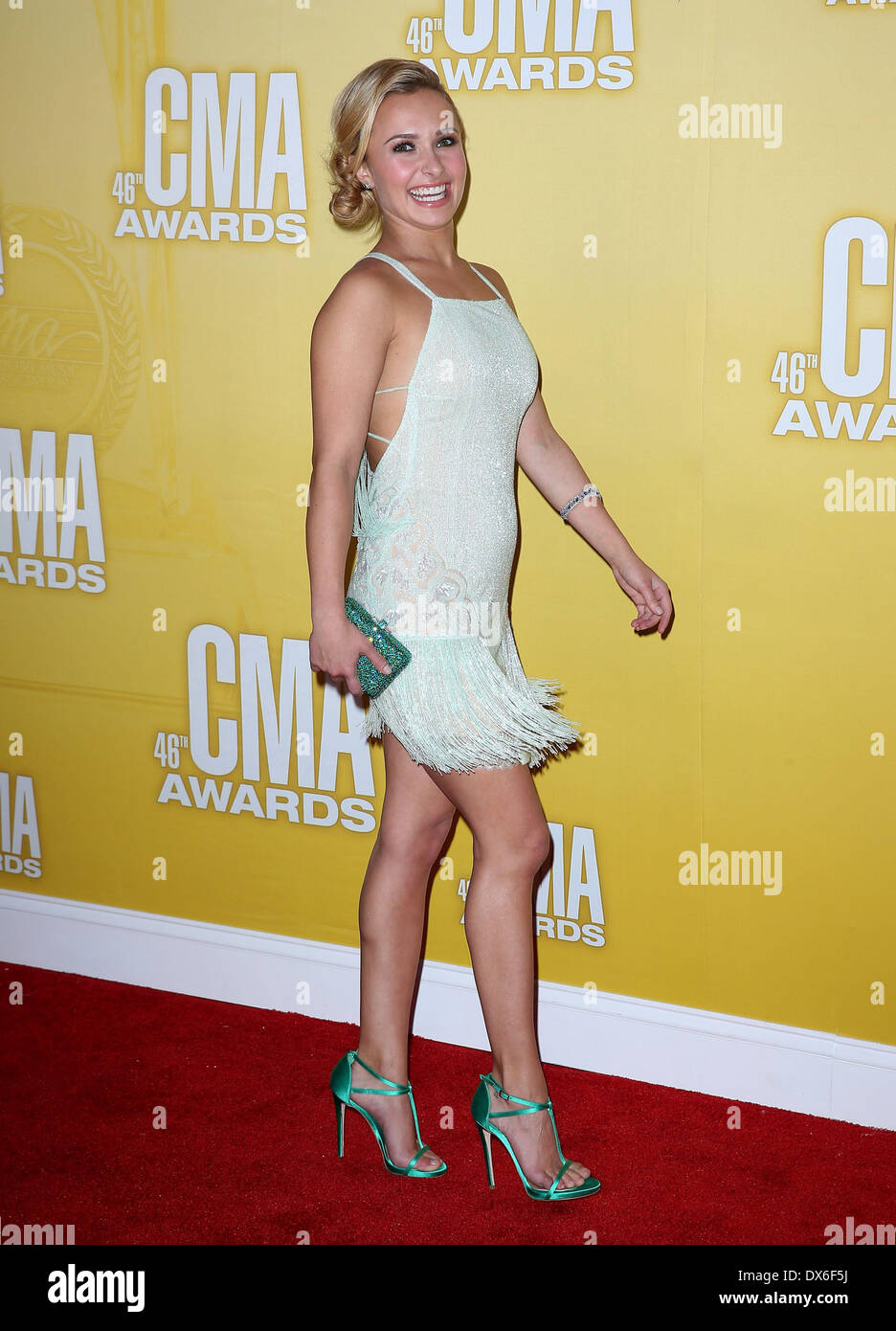 Hayden Panettiere 46th Annual Cma Awards Inside Bridgestone Arena In