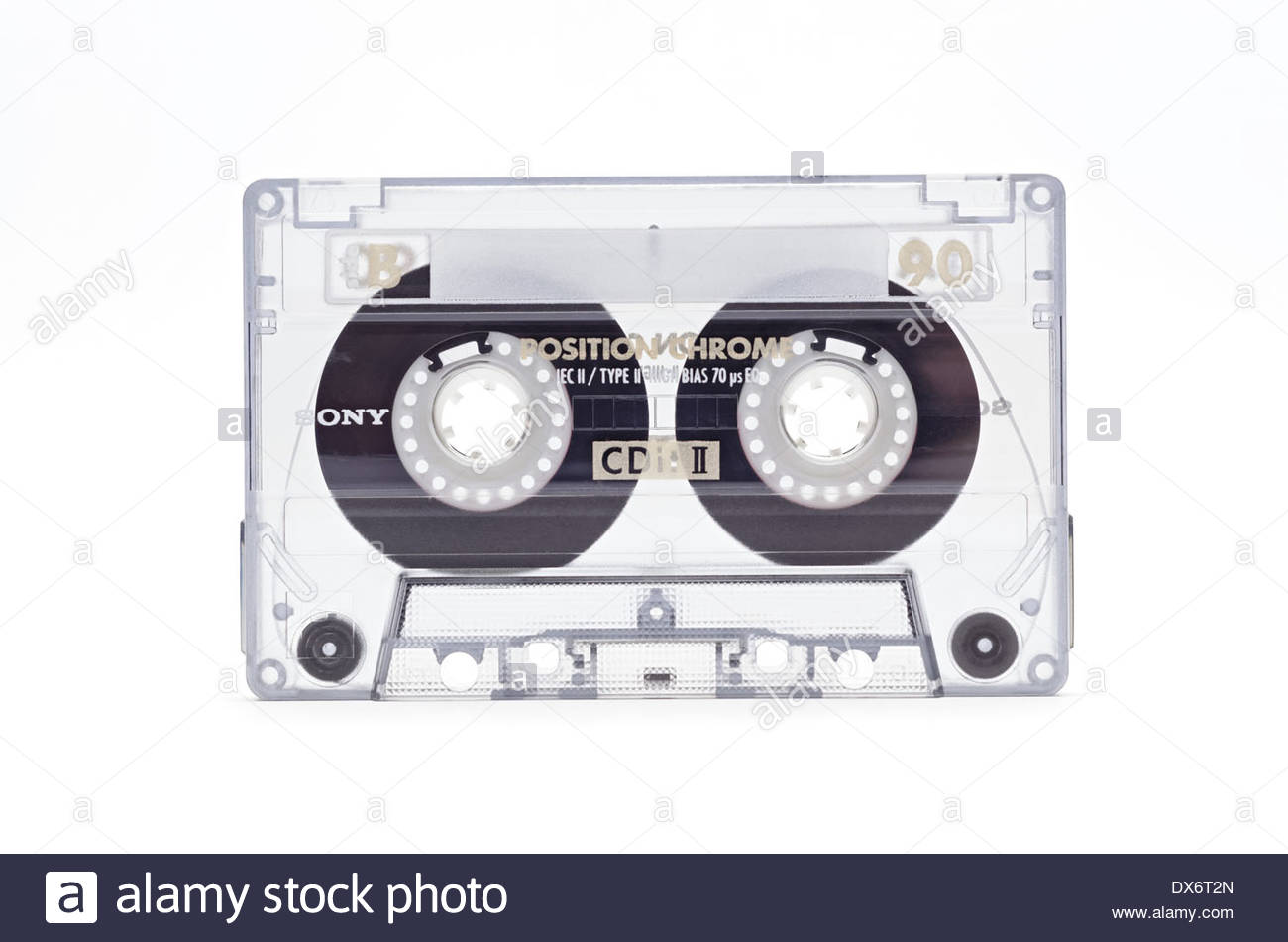 Audio cassette tape - Stock Image
