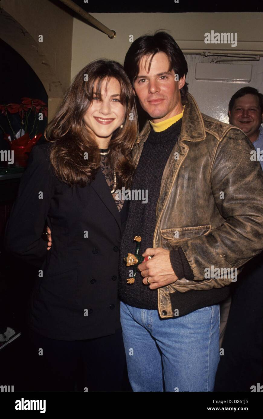 JENNIFER ANISTON Ken Olandt 1993.Leprechaun premiere party ...
