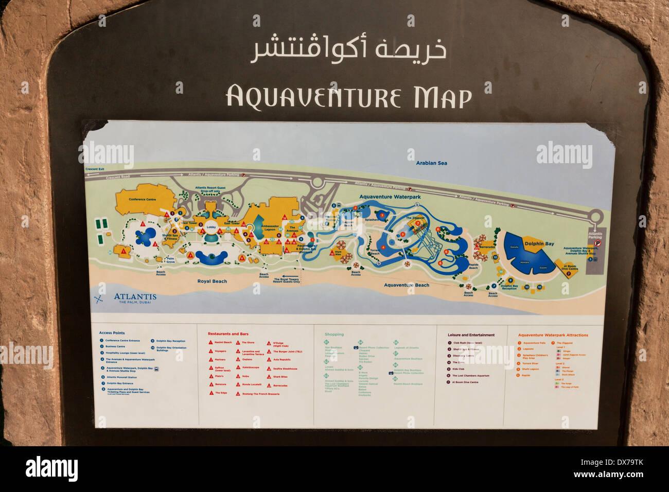Aquaventure map atlantis hotel waterpark dubai uae united arab aquaventure map atlantis hotel waterpark dubai uae united arab emirates middle east gumiabroncs Gallery