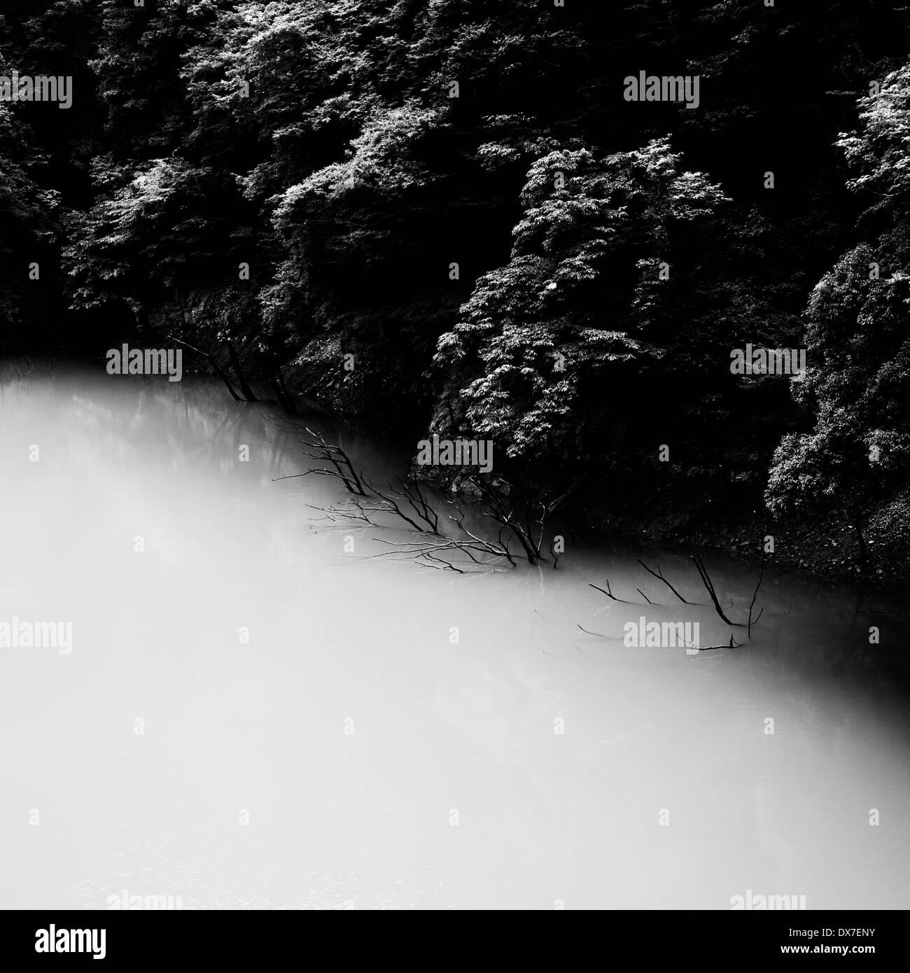 Miho Dam, Kanagawa Prefecture, Japan - Stock Image