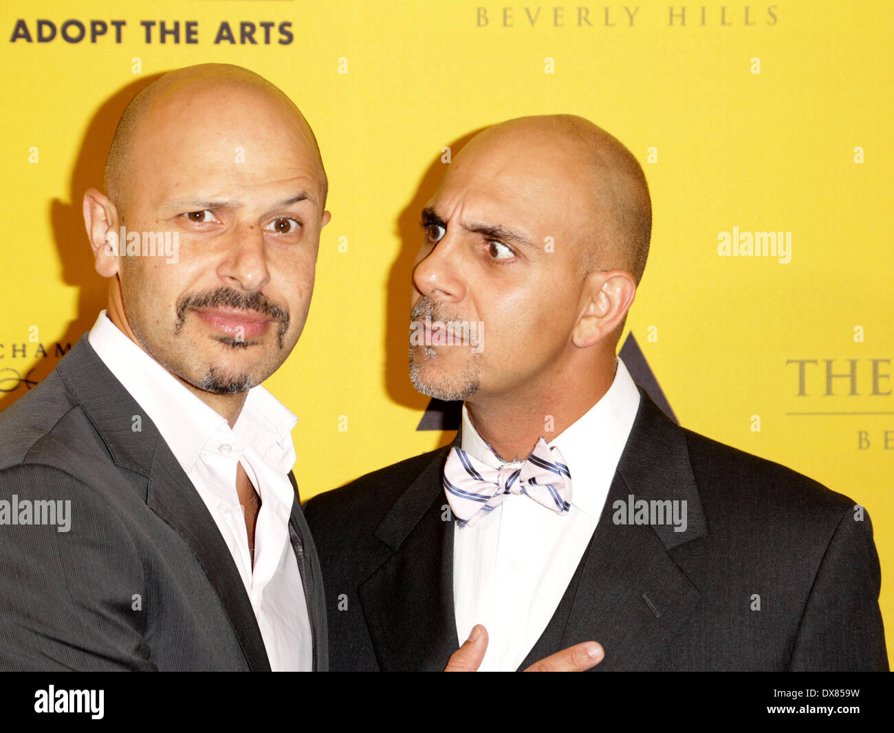 Guests 'Adopt The Arts' fundraiser for LAUSD elementary schools held at the Peninsula Hotel Los Angeles, California - 08.11.12 - Stock Image