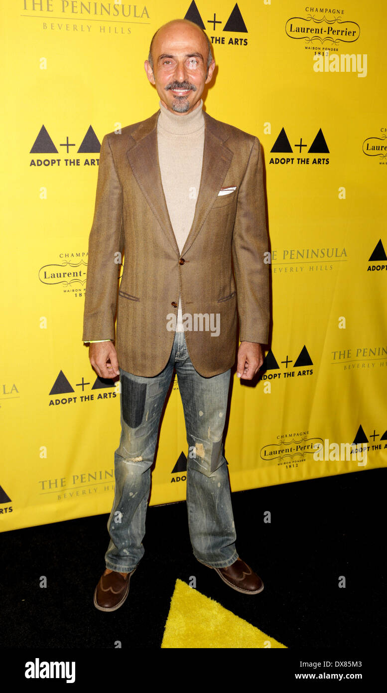 Shaun Toub 'Adopt The Arts' fundraiser for LAUSD elementary schools held at the Peninsula Hotel Los Angeles, California - 08.11.12 Featuring: Shaun Toub Where: USA When: 08 Nov 2012 - Stock Image