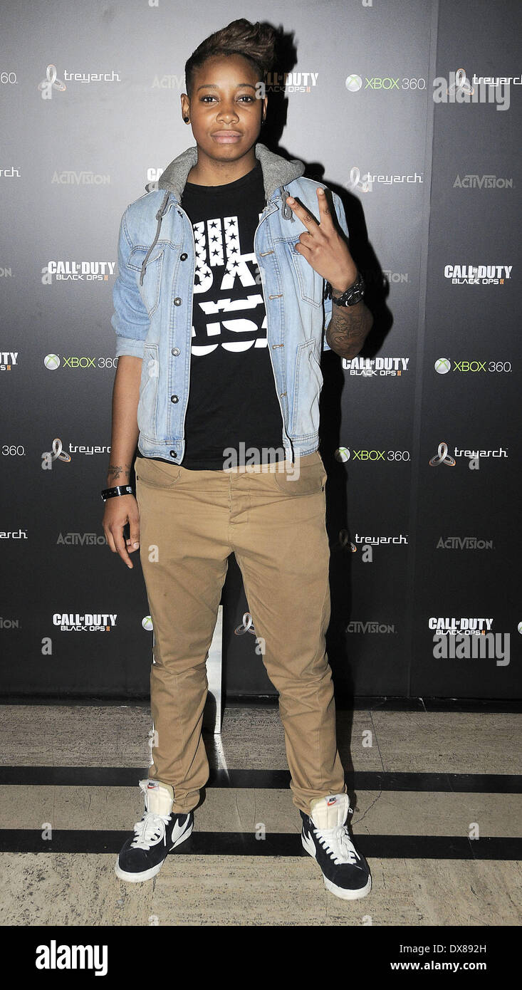 Amplify Dot, at the launch party for 'Call of Duty: Black Ops II ...