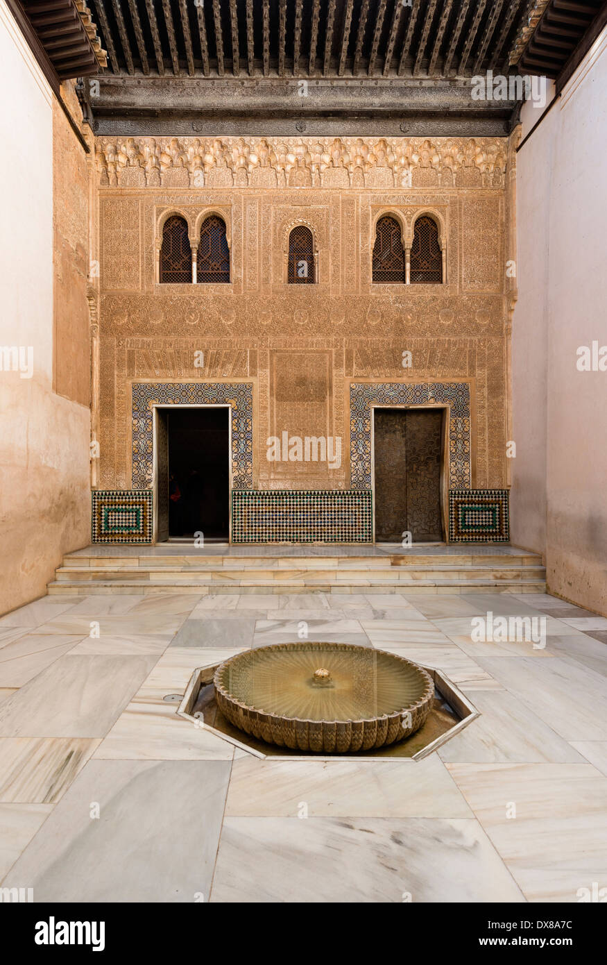 Patio del Mexuar (Court of the Council Chamber) - Stock Image