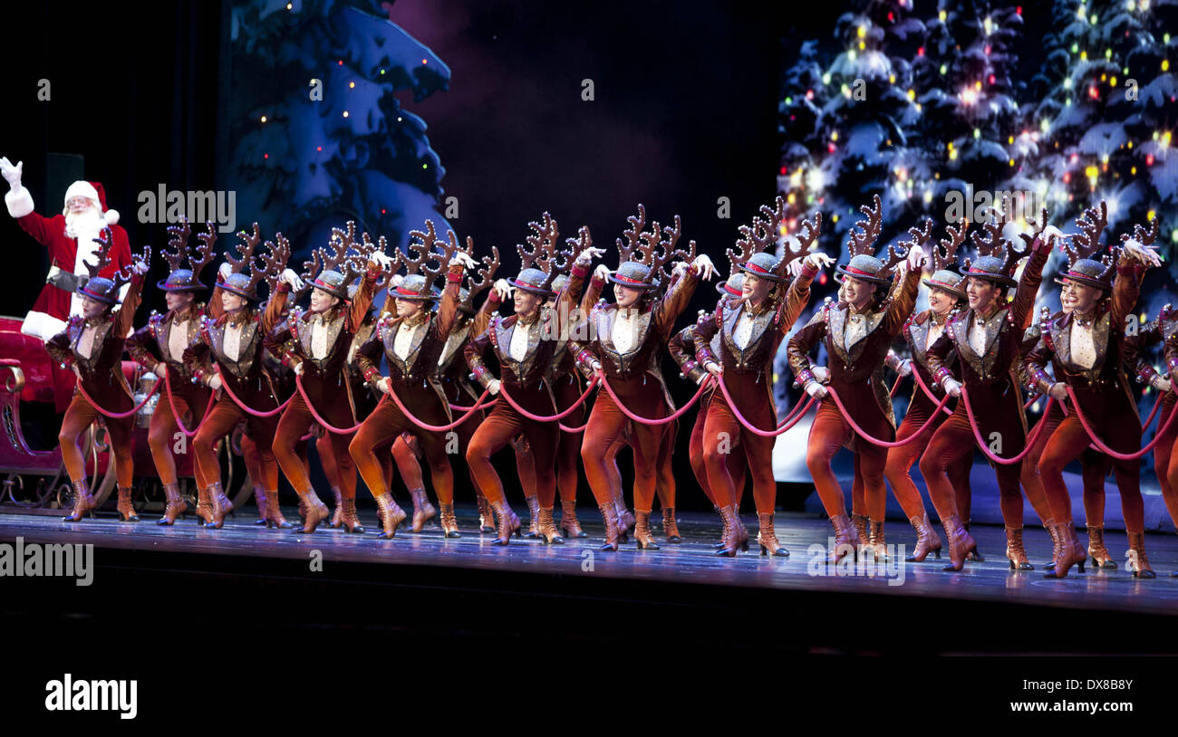 rockettes radio city christmas spectacular opening night at radio city music hall featuring rockettes where - How Long Is The Radio City Christmas Show